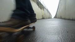 Urban Skateboarding - stock footage