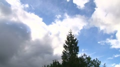 Partly Sunny Time Lapse Stock Footage