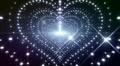 LED Light Heart 3 H1BS1 HD HD Footage