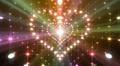 LED Light Heart 3 H1LB2 HD Footage