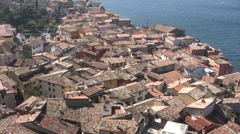Italy - Lake Garda - Malcesine Stock Footage
