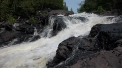 Thompson Falls Stock Footage