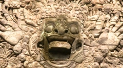 Traditional Balinese Guardian Spirit Stock Footage
