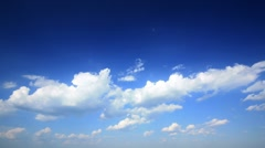 Time Lapse clouds. Stock Footage