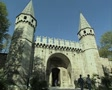 View of Gate of Salutation at Topkapi Palace Footage