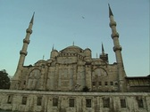 Close up view of Hagia Sophia Stock Footage