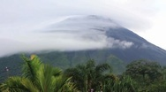 Stock Video Footage of Volcano Arenal TL