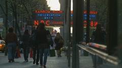 NBC Studios, NYC Stock Footage