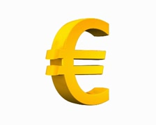Euro gold Stock Footage