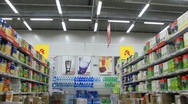 Stock Video Footage of In supermarket. Timelapse 3x 1080p