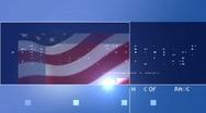 Blue background America Stock Footage