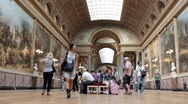 Stock Video Footage of Museum hall in Versailles, Paris