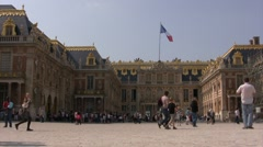 Versailles Castle, France Stock Footage