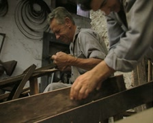 Close up of woodworkers Stock Footage