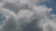 Timelapse Cloudscape HSD 47 Blue Sky Stock Footage