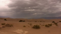Death Valley 31 Timelapse Mesquite Sand Dunes Stock Footage