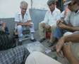Men playing cards Footage