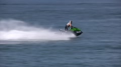 jetski ride - stock footage