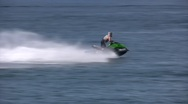 Jetski ride Stock Footage