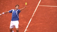 Tennis player Stock Footage