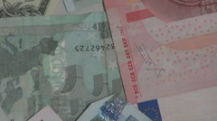 International Currency, Money Stock Footage