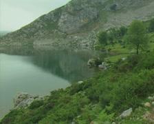 Lake edge Stock Footage