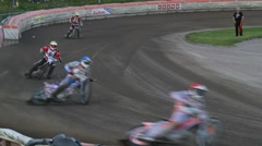 Speedway racing Stock Footage