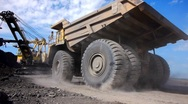 Stock Video Footage of Mining dump truck 015