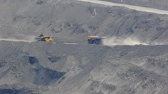 Mining dump truck 023 Stock Footage