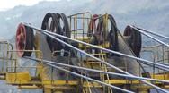 Mining Excavator 4 Stock Footage