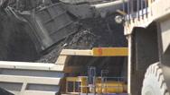 Mining Excavator 14 Stock Footage