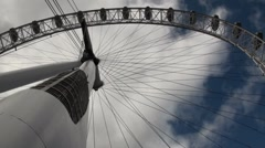 The London Eye - stock footage