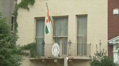Embassy of Niger Stock Footage