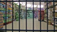 Supermarket timelapse Stock Footage