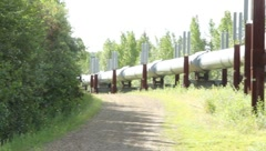 Alaskan Pipeline (HD) c Stock Footage