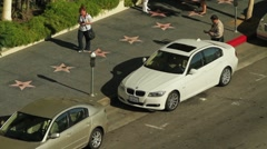 Hollywood Walk of Fame Parking Ticket Stock Footage