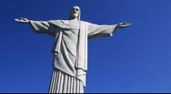Stock Video Footage of Christ the Redeemer (Cristo Redentor), Rio de Janeiro. HD 1080 (1920x1080)