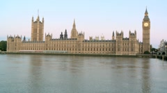 Houses of Parliament / Palace of Westminster London 50i Stock Footage
