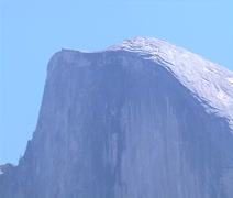 Yosemite National Park Half Dome - stock footage