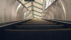 Escalator BART Station - stock footage