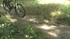 Cyclocross,sport strong people Stock Footage