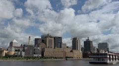 Saint Paul Minnesota Time Lapse - stock footage