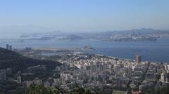 Rio De Janeiro  sugar loaf mountain Stock Footage