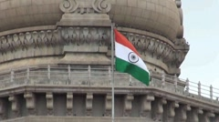 Indian flag Stock Footage