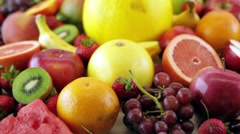 Beautiful Fruits HD Stock Footage