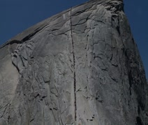The Cabes of Half Dome - stock footage