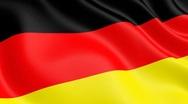 Stock Video Footage of German flag