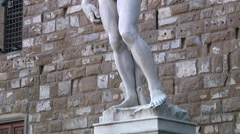 Italy, Tuscany, Florence, David di Michelangelo Stock Footage