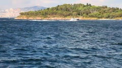 Speed boat HD 1080p Stock Footage
