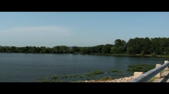 Lake Scene - stock footage